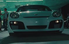"""Fast & Furious (2009) Gisele (Gal Gadot) drives this 2007 TechArt GTsport Porsche Cayman. She also drives a Ducati Streetfighter that she shows up with in Fast Five ;sp jas - The Complete History of Every Important Car in the """"Fast & Furious"""" Franchise 