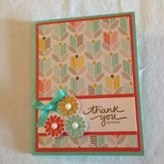 Sale-a-bration DSP Shared by Maralene Ross on Stampi'n Connection Linda Bauwin - CARD-iologist  Helping you create cards from the heart.