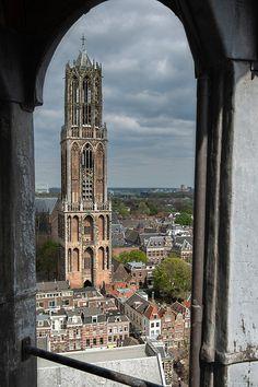Utrecht, Holland, Empire State Building, Ramen, Notre Dame, Dutch, Beautiful Places, Canvas, Internet