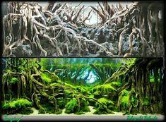 "Resurrection of ""Longing"". #IAPLC 2015 #1 Mesmerizing Aqua Design by our Champion Mr. Takayuki Fakuda... share d by Aquascape Jordan on facebook ... pin by Aqua Poolkoh"