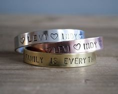 Juweeltje Metalen armband 'Zilver'