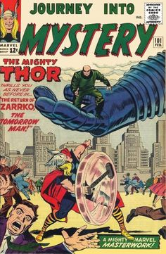Cover for Journey into Mystery (Marvel, February 1964) #101