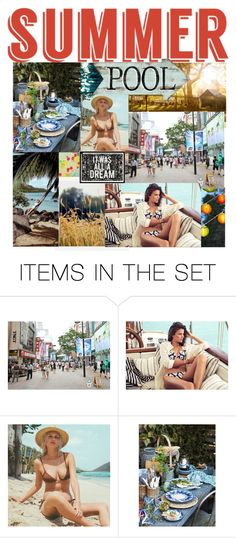 """My Summer..."" by mjbogner ❤ liked on Polyvore featuring art"