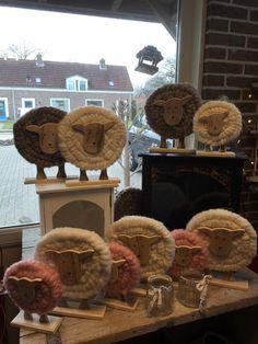 Foto: Leuk schapen als Decoratie #lente #schapen #voorjaar . Geplaatst door Knus voor je huis op Welke.nl