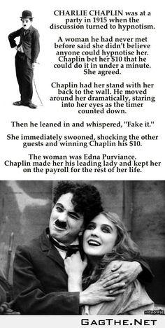 Charlie Chaplin Everyone.