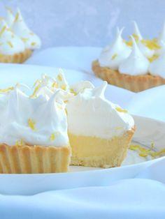 Lemon Pie Receta, Lemon Curd Pie, Lemon Curd Recipe, Lemon Recipes, Sweet Recipes, Cookie Pie, Dessert Recipes, Desserts, Bakery