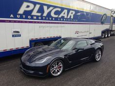 Callaway Corvette SC757 ready for delivery by Plycar Transportation.