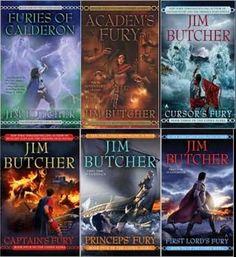 The Codex Alera series by Jim Butcher