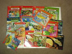 Magic School Bus Books