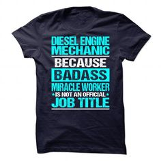 Awesome Tee For Diesel Engine Mechanic T-Shirts, Hoodies, Sweatshirts, Tee Shirts (21.99$ ==> Shopping Now!)