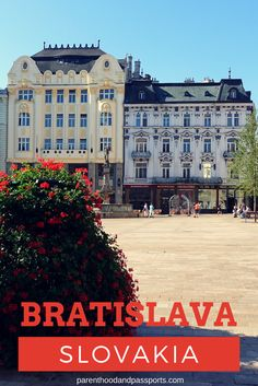Bratislava, Slovakia: Castles, charm and interesting food. What to see and do on a day trip from Vienna, Austria. #bratislava #slovakia #europe