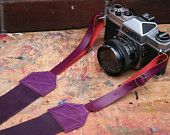 Stunning leather camera straps!