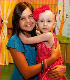 Brooke and her buddy Bailee Madison