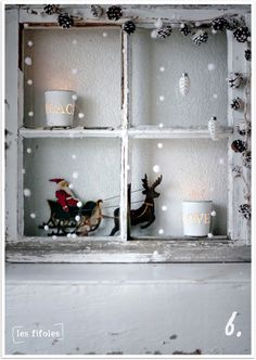 Windowsills are often overlooked when decorating for the holidays. When decorated with miniatures, they bring an added element to your home and a feeling of wonder to passers-by.