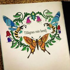 #comleted #end #dagdrömmar #dagdrömmarhannakarlzon #hanakarlzon #zasnění #podmesnivat #daydreams #hannakarlzondagdrömmar #colouring #colorful #colorrelax #colouringforadults #maprvnidokoncenakniha #hotovo #completebook #END 😁😁😁😁