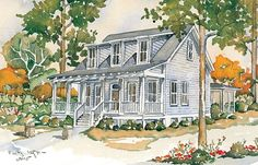 Looking for the best house plans? Check out the Couples Cottage plan from Coastal Living. Modular Home Floor Plans, Cottage Floor Plans, Cottage Plan, Cottage Homes, House Floor Plans, Cottage Style, Luxury House Plans, Best House Plans, Dream House Plans