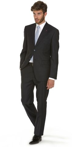 Détails sur Giacca uomo slim fit nera elegante casual blazer in cotone 100% made in Italy