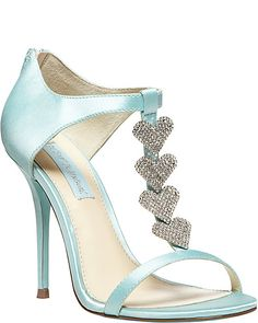 SB-FAVOR BLUE women's evening high jeweled