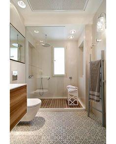 Dream Spa-Style Bathroom #bathroom #shower #interior #interiors #interiordesign #design #architecture