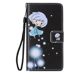 UNEXTATI Huawei P8 Lite Case Flip PU Leather Case with Silicone Cover Magnet Closure CardSlot Kickstand Impact Resistant Wallet Case for Huawei P8 Lite -- You can get more details by clicking on the image.