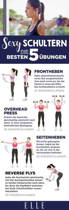 Fitness-Übungen für definierte Schultern | ELLE