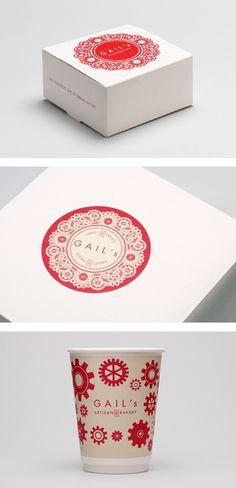 Gail's Artisan Bakery packaging