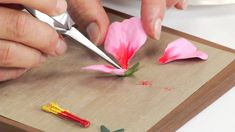 How to Use Sizzix Thinlits Hibiscus Flower Die 658416 (+playlist)