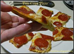 One cannot have too many pizza crust recipes! I have several, and this has become my favorite. I make this pizza for a quick lunch pizza ...