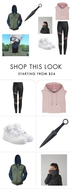 """Team 7 Kakashi Style"" by dilqnamitreva on Polyvore featuring adidas, NIKE, Ripple Junction and lululemon"