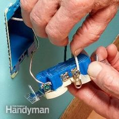 Home Improvement Tips And Tricks To Help Your Increase The Value Of Your Home Home Electrical Wiring, Electrical Projects, Electrical Outlets, Electrical Code, Electrical Engineering, Home Improvement Projects, Home Projects, Energy Projects, House Wiring