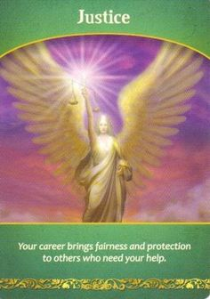 Justice Oracle Card Extended Description - Life Purpose Oracle Cards by Doreen Virtue Angel Readings, Free Angel, Angel Guidance, Oracle Tarot, Doreen Virtue, Angel Cards, Spirit Guides, Card Reading, Life Purpose