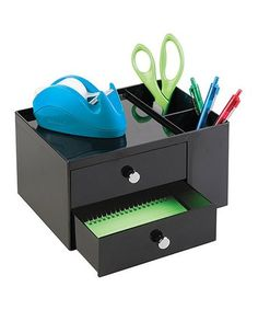 Hospitable Stick On Desktop Stationery Desk Organizer Brush Pot Plastic Pen Holder Pencil Box Office Makeup Storage Complete Range Of Articles Pen Holders Desk Accessories & Organizer