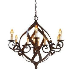 Currey and Company 9528 Gramercy Chandelier with Customizable Shades Mayfair Indoor Lighting Chandeliers  sc 1 st  Pinterest & Currey u0026 Company 9528 Currey In A Hurry Gramercy Chandelier ... azcodes.com