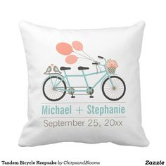 Shop Tandem Bicycle Wedding Classic Round Sticker created by ChirpsandBlooms. Bicycle Wedding, Tandem Bicycle, Balloon Flowers, Wedding Pillows, Blue Gift, Love Stickers, Wedding Stickers, Wedding Keepsakes, Wedding Supplies