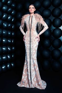Nicolas Jebran HOUTE COUTURE SUMMER 2013  Evening wear dresses www.finditforweddings.com