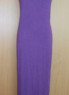 Kup mój przedmiot na #vintedpl http://www.vinted.pl/damska-odziez/dlugie-sukienki/9560990-sukienka-dluga-maxi-dresowa-fioletowa-atmosphere-38-40