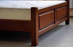 """Кровать деревянная """"Корона"""" из массива ольхи"""