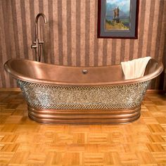 100 Beautiful Bathrooms With A CopperTub - Style Estate -