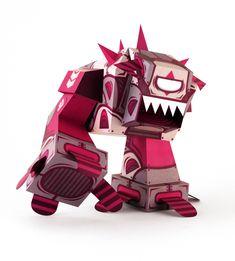 Paper Robots Book! - Tougui