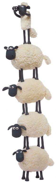 Shaun The Sheep, Decor, Decoration, Decorating, Deco