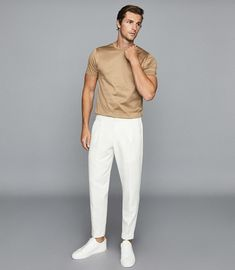 Trendy Mens Fashion, Stylish Mens Outfits, Casual Outfits, Men Casual, Men Fashion, Formal Men Outfit, Mens Clothing Styles, Menswear, Tailored Trousers