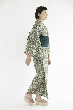 flower bed yukata | minä perhonen