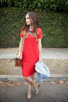 Merrick's Art // Style + Sewing for the Everyday Girl : THE TEE DRESS (TUTORIAL)