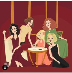 I LOVE CABLE GIRLS!! Fanart, Girls Series, Tv Series, Netflix, Jar Of Dirt, Movie Poster Art, Science And Nature, Easy Drawings, Favorite Tv Shows