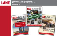 Newsletter--Internal, 3rd Place, The Lane Construction Corporation, Cheshire, CT
