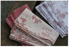 How To Make Cloth Napkins From Bed Sheets