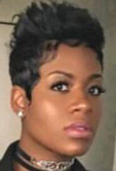 Short Relaxed Hairstyles, Black Women Short Hairstyles, Short Sassy Haircuts, Short Haircut Styles, Ethnic Hairstyles, Short Styles, Girl Hairstyles, Fantasia Short Hairstyles, Medium Short Hair