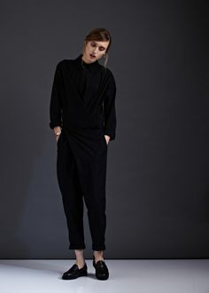 One Way or Another Jumpsuit by Kowtow. Ethical organic cotton.
