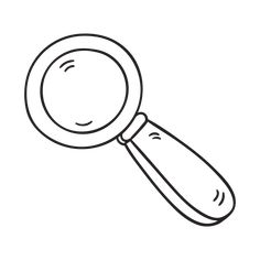 Magnifying glass - Children love to play detective with a magnifying glass.  This simple, timeless piece of equipment is great for getting close up to the small things, not only outdoors, but the familiar aspects of daily life - the textures in a woven placemat on the kitchen table, or the different coloured threads in a teatowel. Children can use the things they see  to inform their drawings and pattern-making.