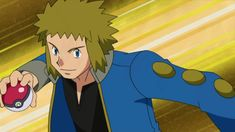 pokemon gym leader volkner | Volkner is a Gym Leader from Sunyshore City who specializes Electric ...